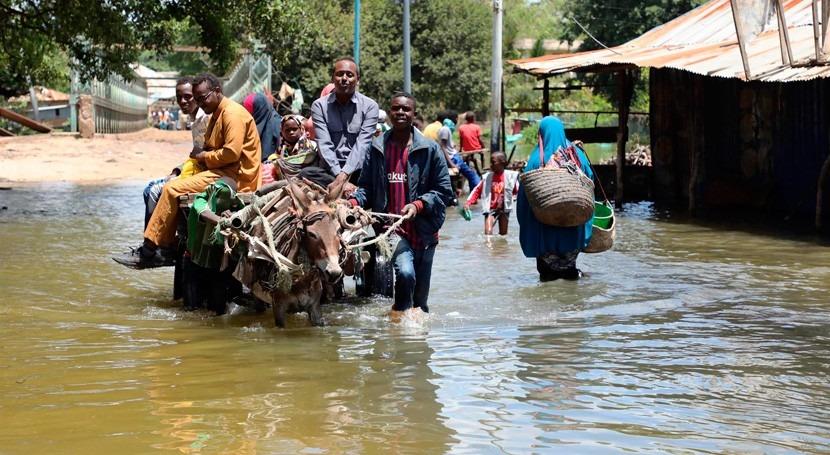 ONU, Somalia sufre doble crisis climática que puede empeorar situación país