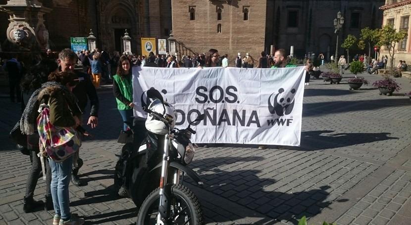 almacén gas Doñana: cronología disparate ambiental