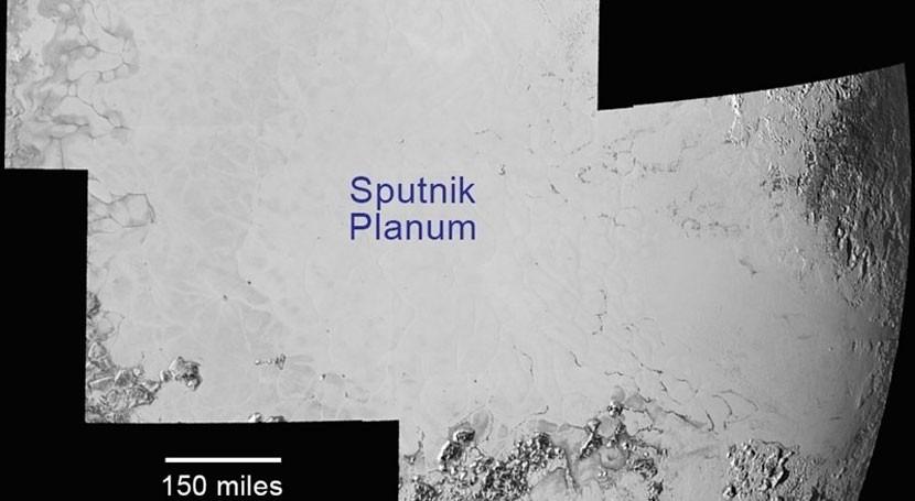 gran llanura Plutón podría haber aparecido debido océano subterráneo