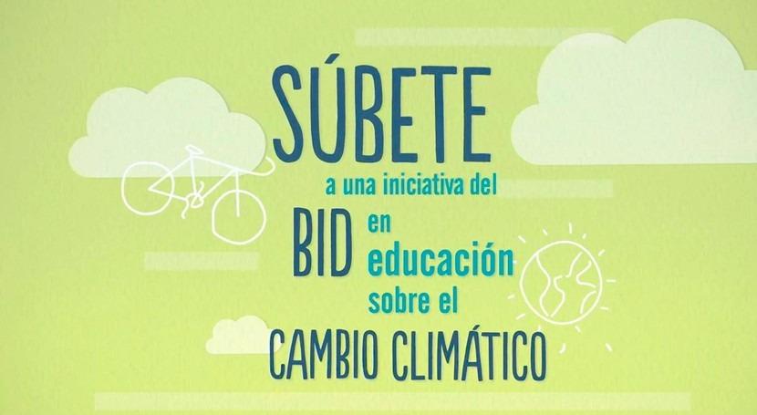 Súbete, kit escolar cambio climático estudiantes, padres y maestros
