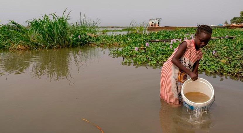 ONU, inundaciones Sudán Sur julio dejan ya más millón afectados
