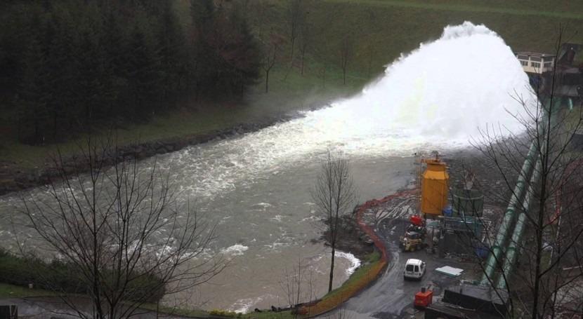 Consorcio Aguas Bilbao construirá 2016 by-pass presa Undurraga