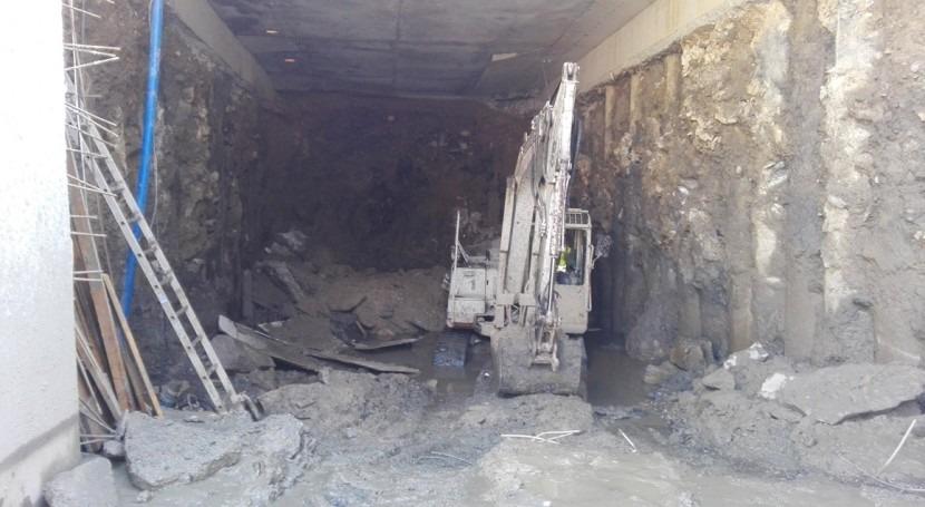 URA inicia extracción tierras subsuelo parque Marisma Sukarrieta