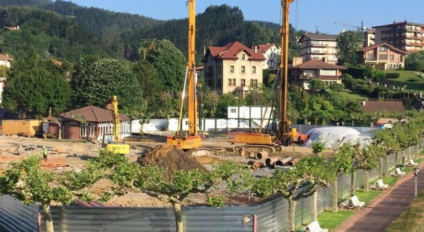 URA renueva otro tramo conducción abastecimiento agua Bermeo (Bizkaia)