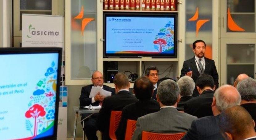 SUNASS participa encuentro España, Perú y Ecuador
