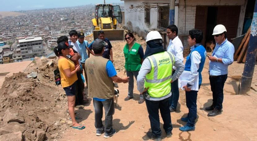 SUNASS supervisa abastecimiento agua potable San Juan Miraflores