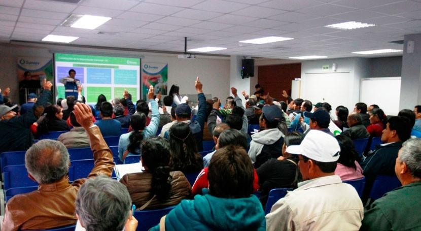 Sunass monitoreó 32 prestadores servicios saneamiento región Lima