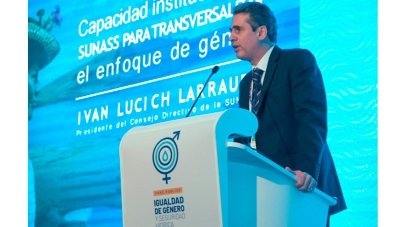 Sunass revela escasa participación mujer sector saneamiento Perú