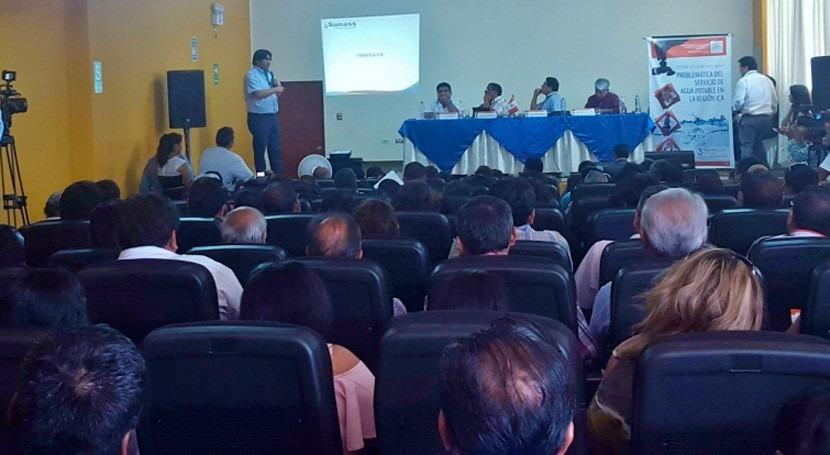 SUNASS participó audiencia pública descentralizada servicios agua Ica