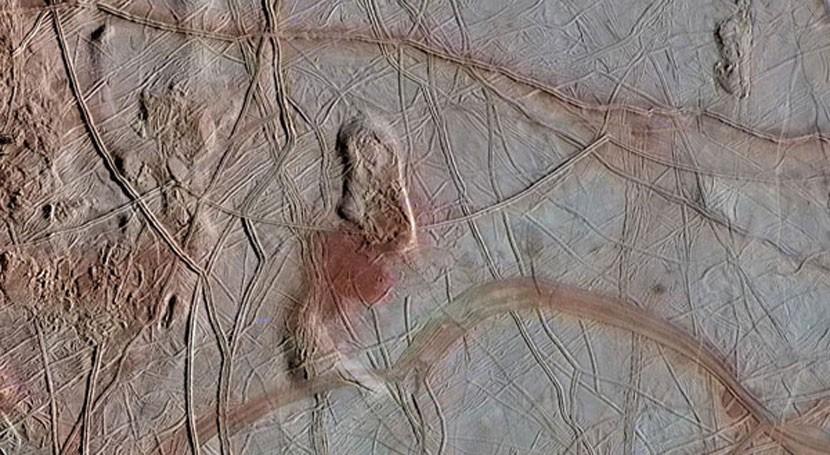 océano subterráneo luna Europa haría posible vida ella