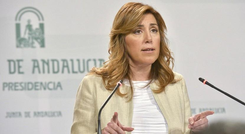 Susana Díaz, presidenta en funciones de la Junta de Andalucía (wikipedia/CC)