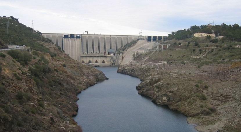 Embalse de Alcántara en Cáceres (Wikipedia/CC).