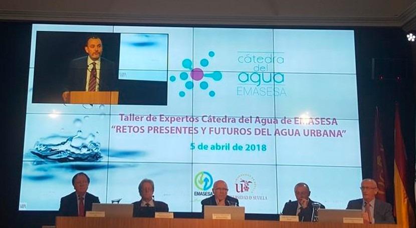 Fernando Morcillo apunta retos presentes y futuros agua urbana