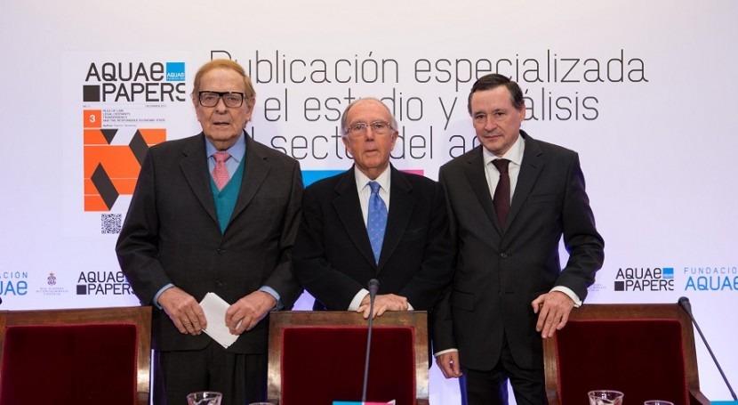 """Tamames y Aurín alertan """" populismos moda"""" sector agua"""