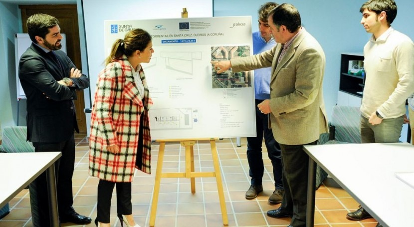 Xunta licita tanque tormentas Santa Cruz 4 millones euros