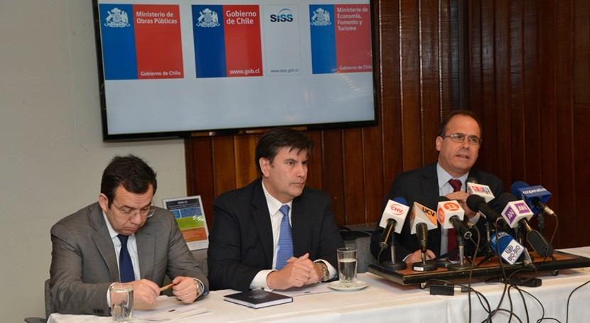 Chile mantendrá tarifas agua potable, alcantarillado y tratamiento aguas 6 regiones
