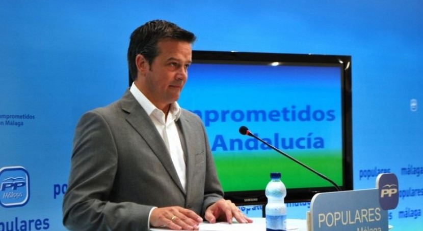 El diputado autonómico por Málaga, Víctor González