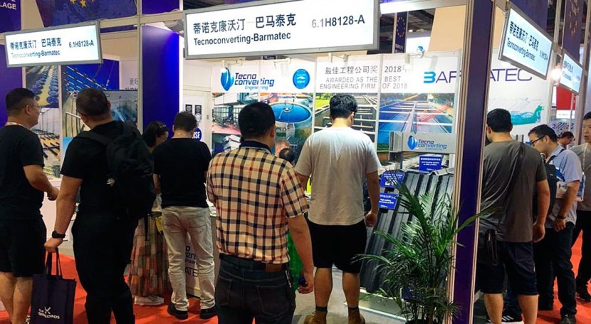 TecnoConverting Engineering estuvo presente Aquatech China