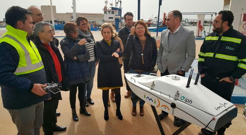 Gobierno Murcia integra robótica y teledetección al estudio Mar Menor