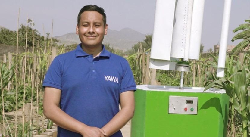 biólogo desarrolla tecnología extraer agua aire Perú