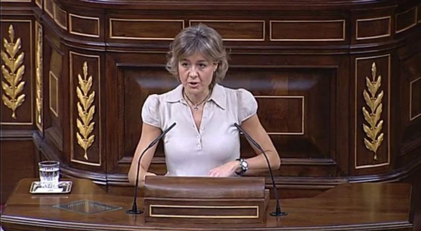 La ministra de Agricultura, Alimentación y Medio Ambiente, Isabel García Tejerina