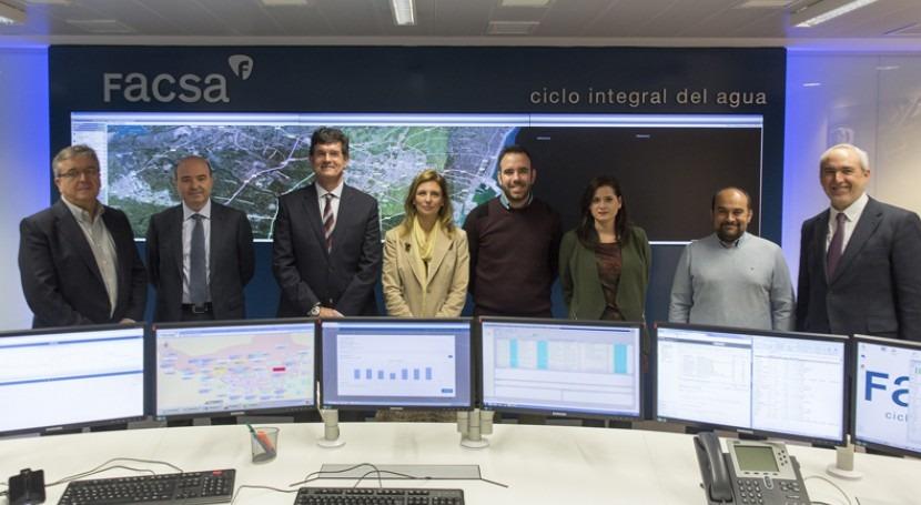 vanguardia tecnológica define nuevo Centro Telecontrol FACSA