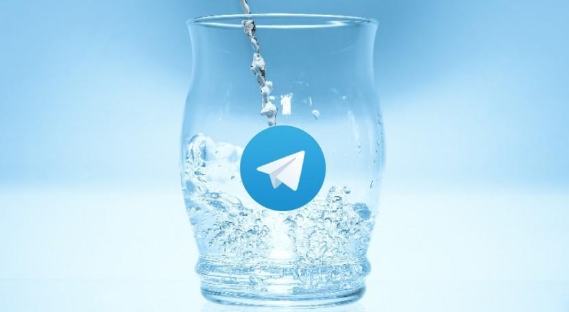 ¿Será Telegram nuevo canal información servicios agua 2017?