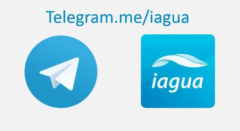 iAgua abre nuevo canal Telegram