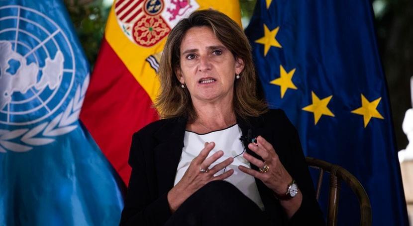 Ribera anuncia inversión 21.000 M€ 2027 infraestructuras agua