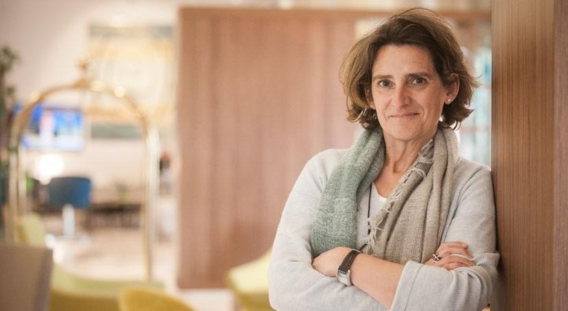 Teresa Ribera, premiada lucha cambio climático
