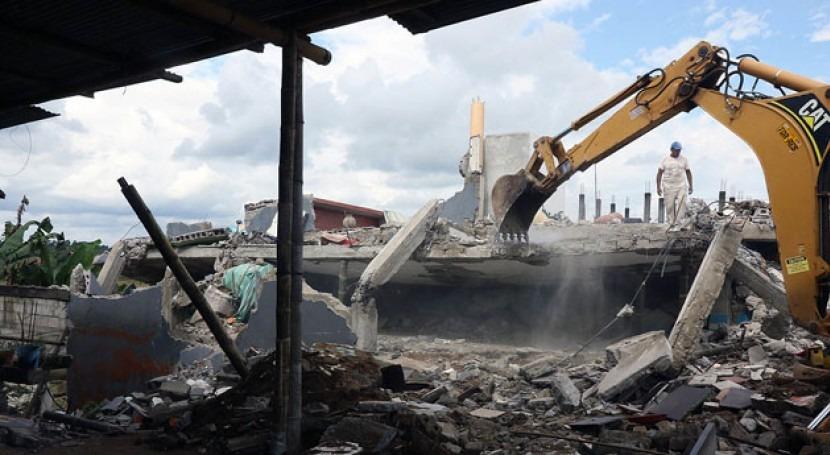 inundaciones frenan reconstrucción Manabí seísmo 2016