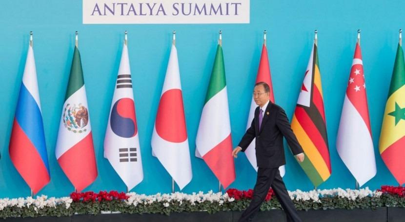 """Ban Ki-moon: """" líderes mundiales deben unir fuerzas terrorismo y cambio climático"""""""