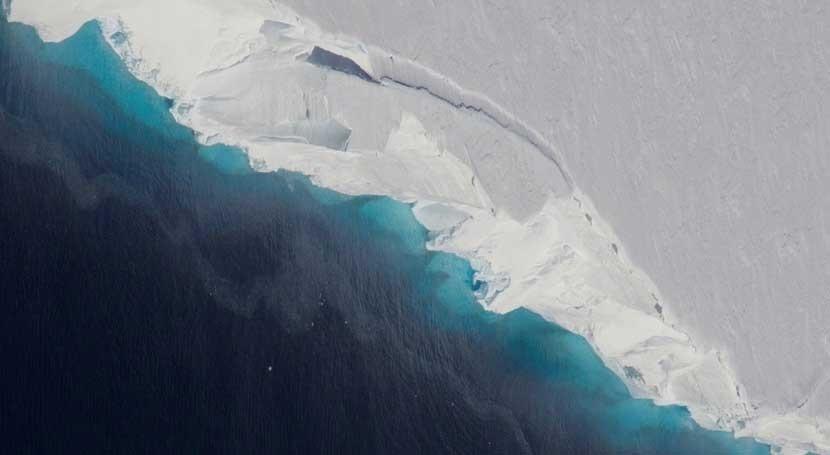 hallazgos cavidad gigante confirman desintegración glaciar antártico Thwaites