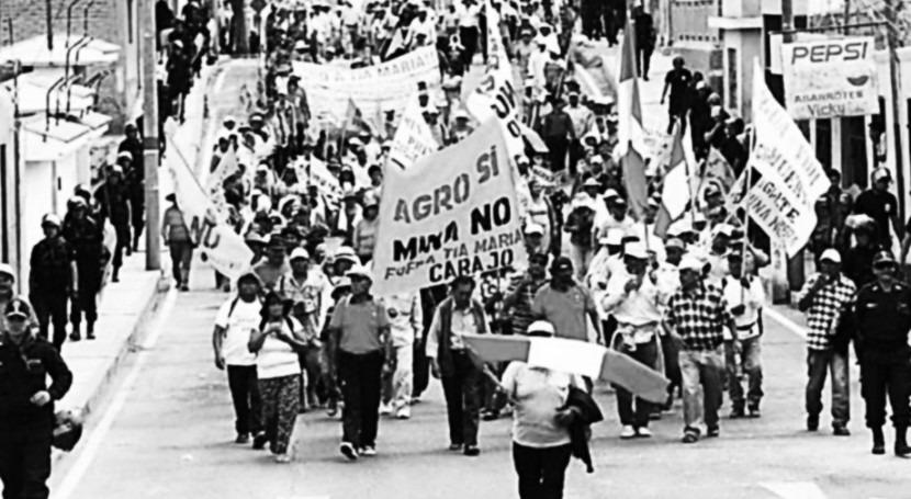 Perú: cuando pueblo no quiere minería sino agricultura