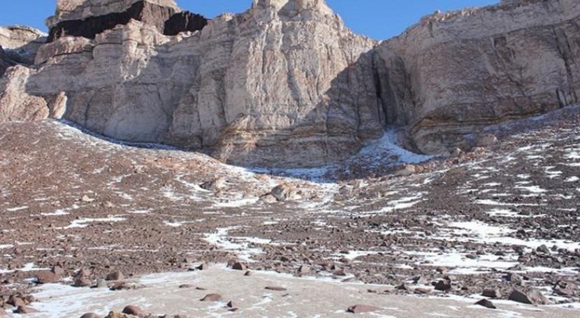 lugares más fríos, antiguos y secos Tierra da pistas vida Marte