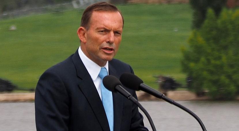 Tony Abbott, primer ministro austrialiano (wikipedia/CC)