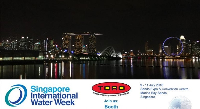 Toro Equipment, Singapore International Water Week