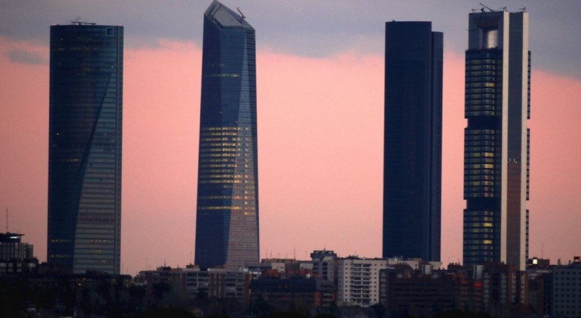 Madrid, Cuatro Torres Business Area (Wikipedia/CC)
