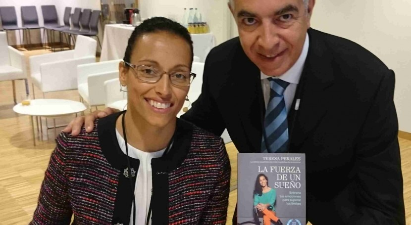 Teresa Perales. Sirenita Ebro