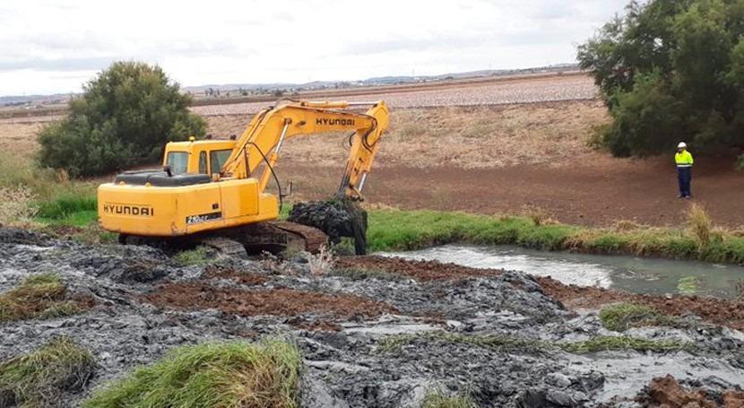 CHG incorpora nuevos municipios al Plan limpieza arroyos y cauces Sevilla