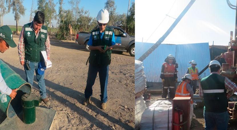 ANA verifica y autoriza explotación agua subterránea Majes