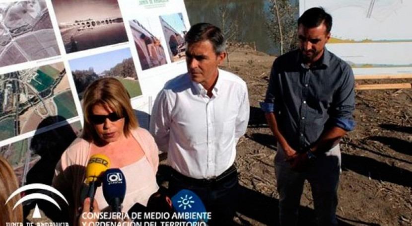 Andalucía invierte 600.000 euros trabajos río Guadalete entorno Cartuja