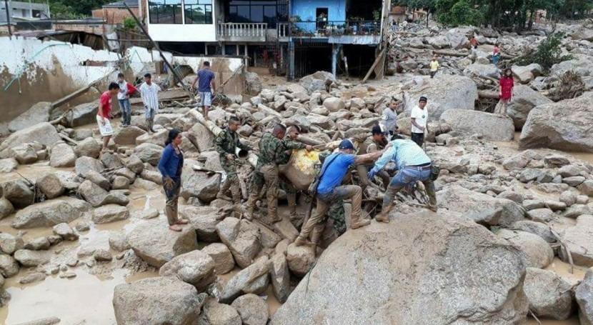 Agua y cambio climático Colombia: paradigma exceso y escasez