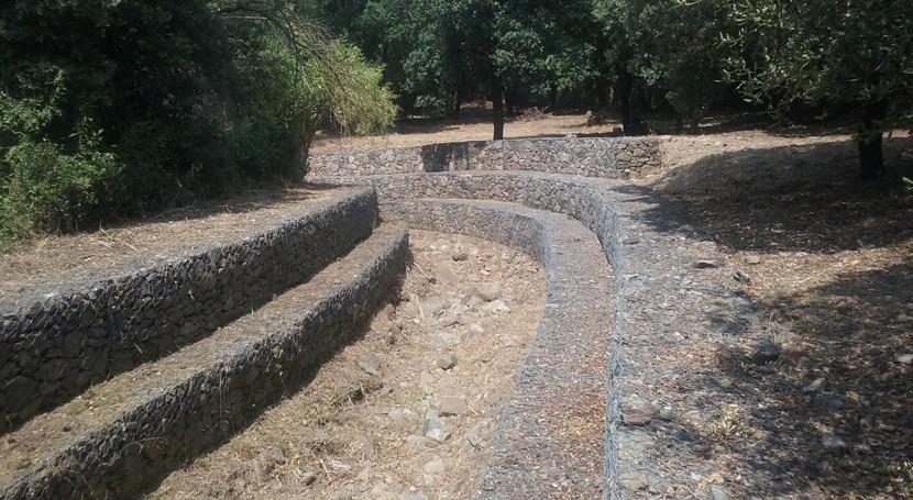 Recuperada capacidad desagüe barranco San Bernardo