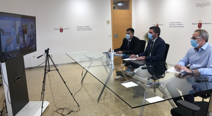 Murcia pide al Gobierno que no se apruebe decreto cambio reglas trasvase Tajo-Segura