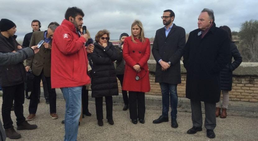 Castilla- Mancha denuncia situación límite e insostenible río Tajo