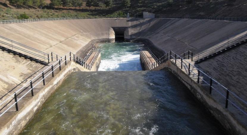 Crisis trasvase Tajo-Segura COAG Murcia: acueducto está prácticamente cerrado