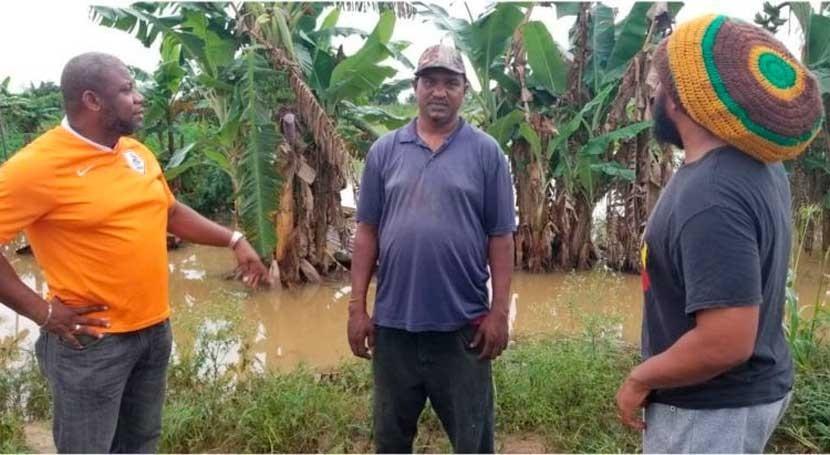 cambio climático pone peligro seguridad alimentaria Trinidad y Tobago