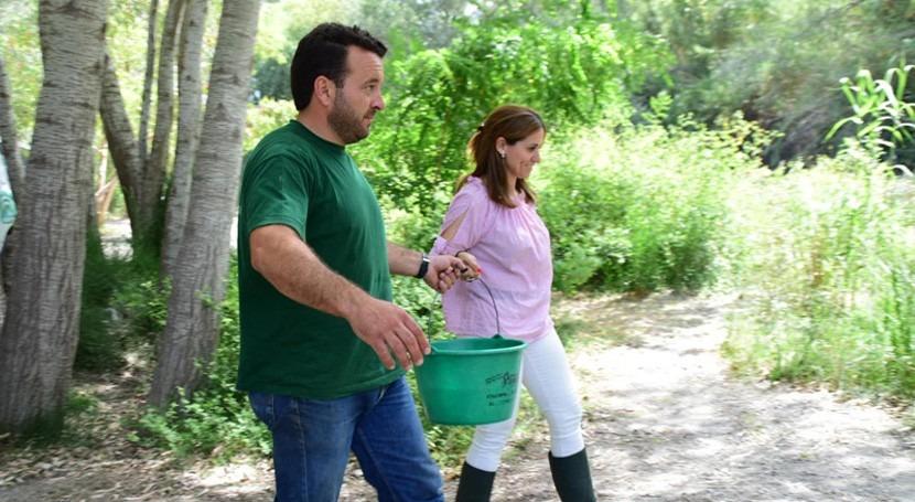 Liberados 500 alevines trucha río Guadalfeno reforzar población