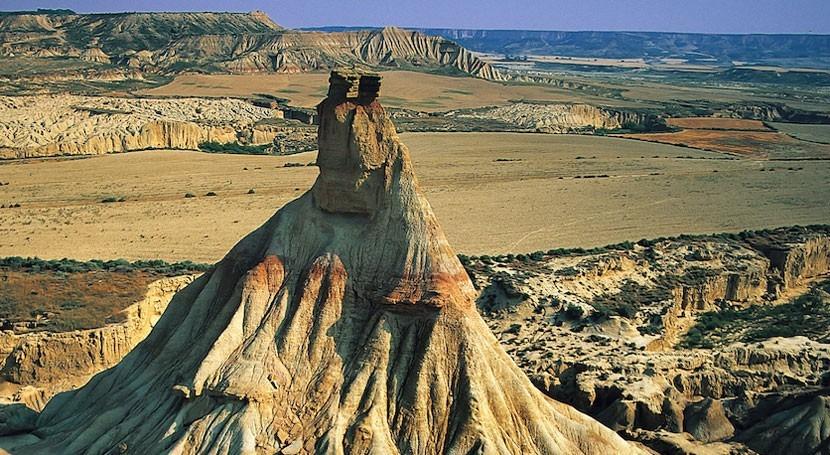 cuenca Ebro se elevó 750 metros encima nivel mar hace millones años